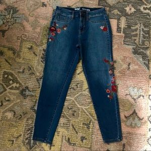 Mossimo Embroidered Jeans